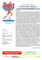 pour le Sport - mars 2015