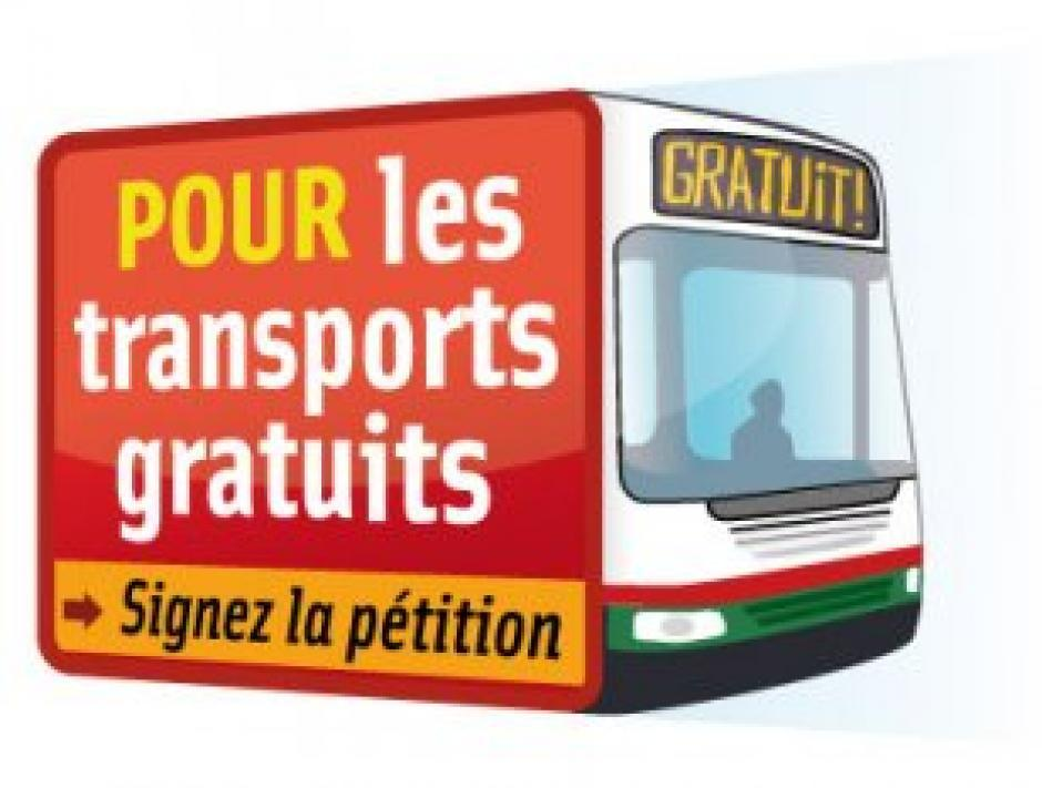 Signez la pétition pour des transports gratuits dans l'agglomération grenobloise